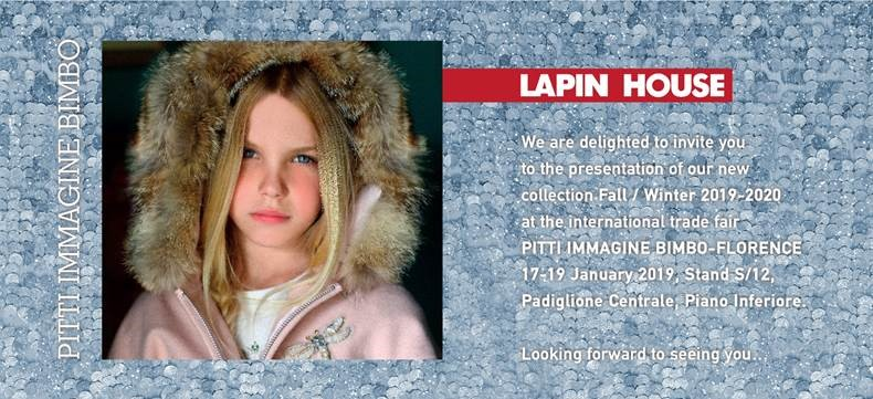 Lapin House invites you to Pitti Immagine Bimbo 88 !