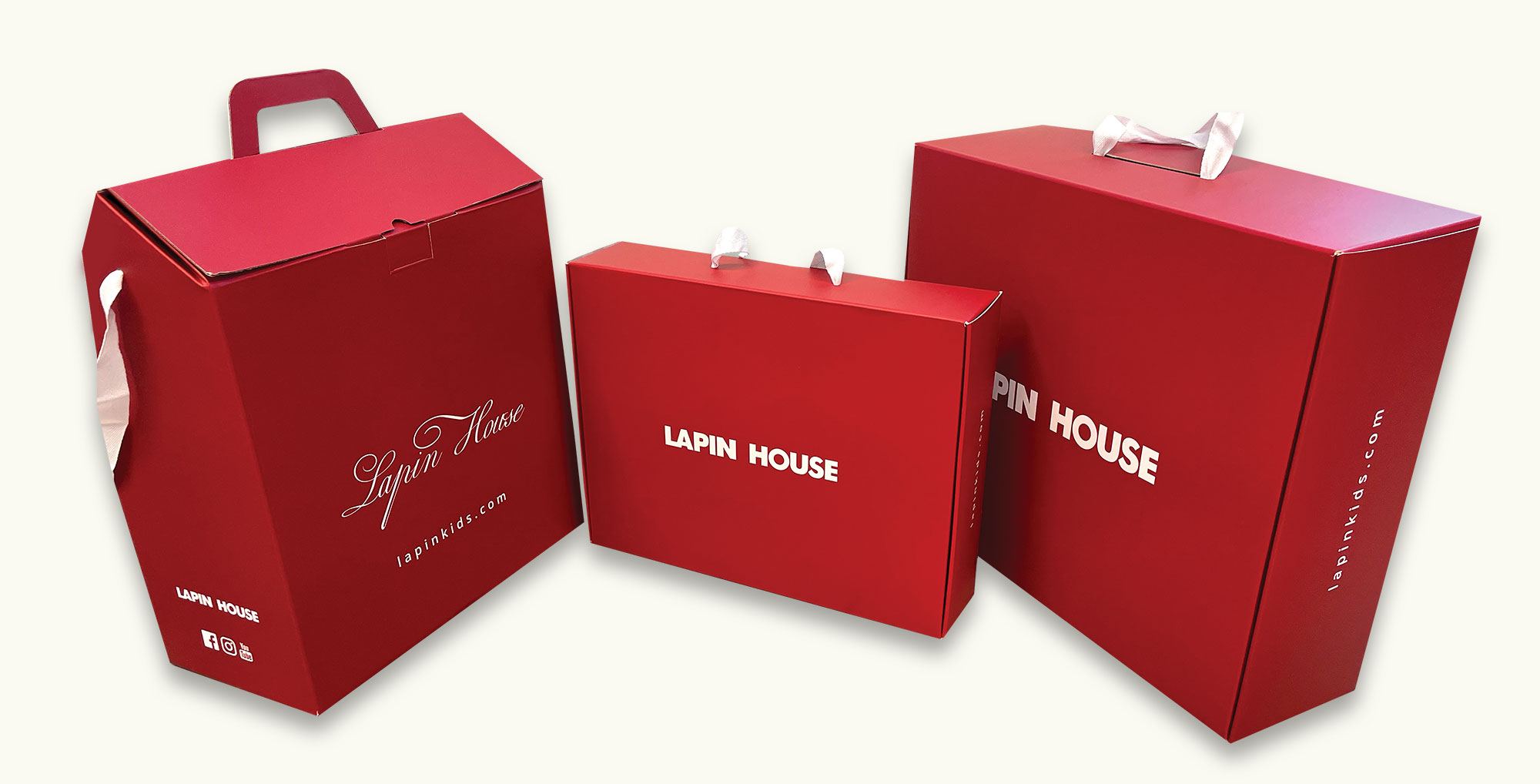 Shopping Experience: Lapin House Launched Beautiful Red Boxes for all the Orders that are Being Sent
