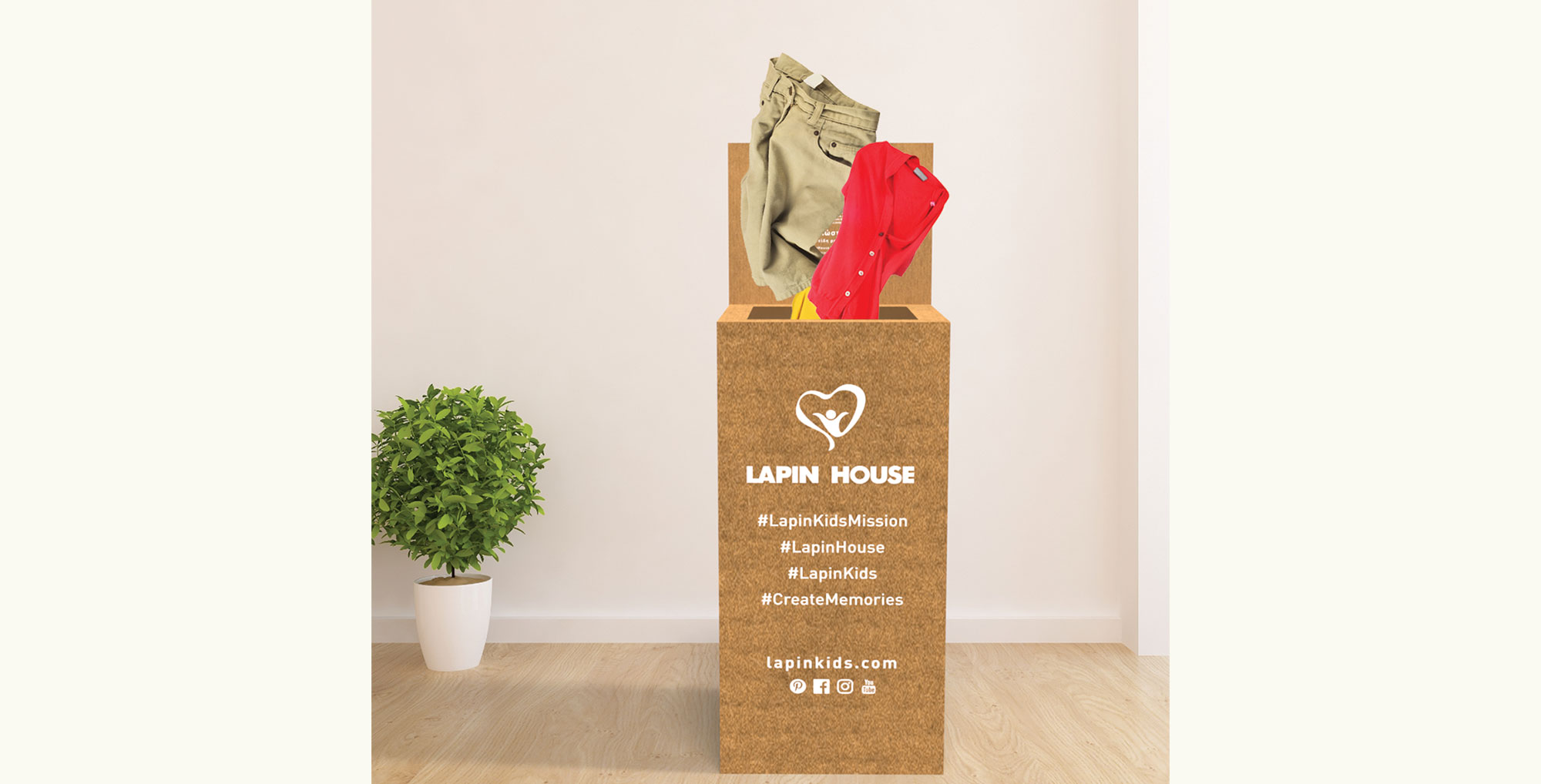 Lapin House Sustainability Campaign: From Clothing Recycling to a Healthier & Greener Planet